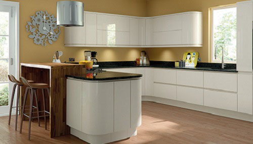 Handleless J-Pull Kitchen Doors