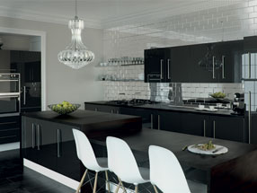 Acrylic Ultragloss Kitchen in Metallic Anthracite